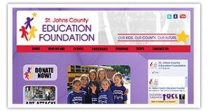 St. Johns County Education Foundation website