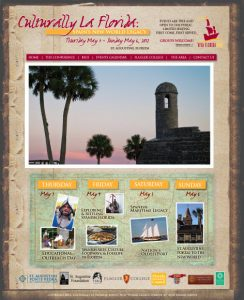 Culturally La Florida website provided by Avid Design Group