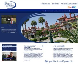 Website design services St. Augustine by Avid Design Group