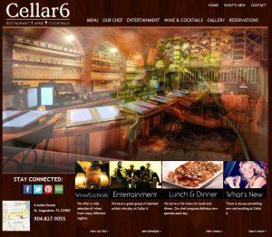 Cellar 6 St. Augustine, Restaurants downtown St. Augustine, Cellar 6