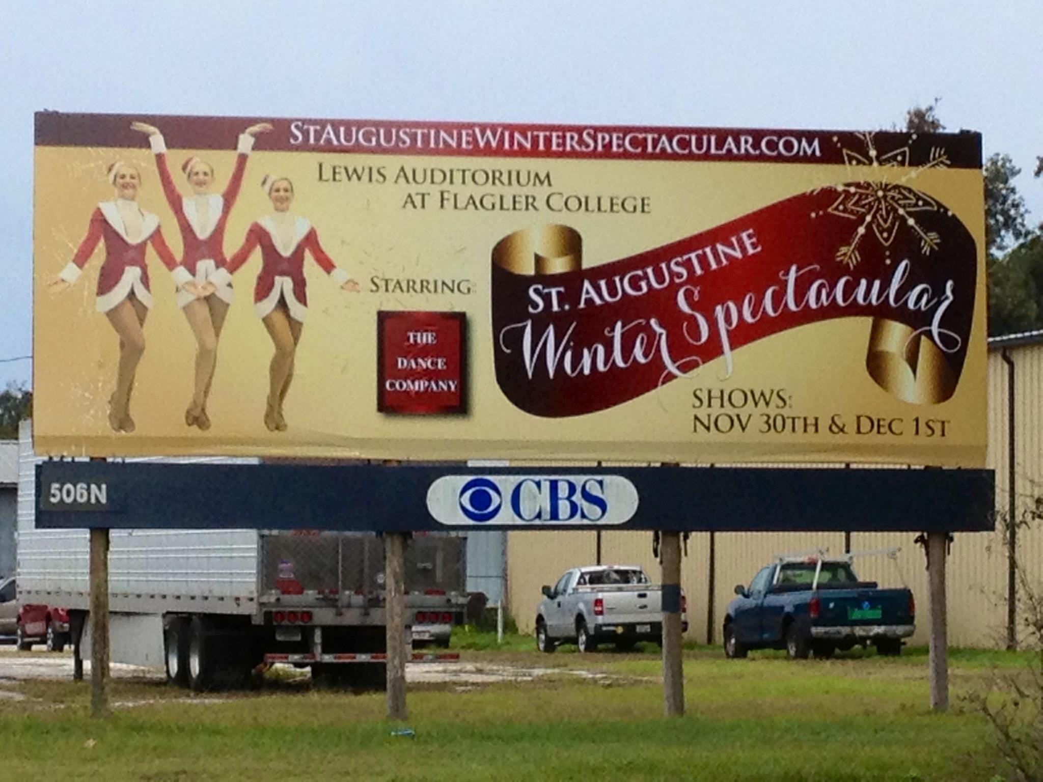 Winter spectacular billboard avid design group llc for Winter design group