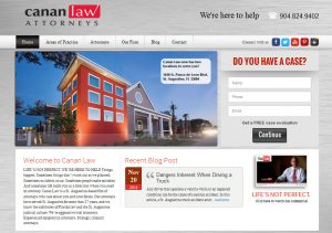 Avid design groug, canan law, canan law attorneys, website design st. augustine, legal website designers, affordable website design, st. augustine website design