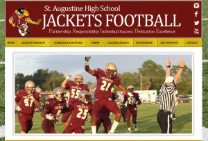 St. Augustine High School Yellow Jackets football, avid design group, st. augustine website design, website design st. augustine, affordable website design, website design agencies, graphic designers, web design, web design st. augustine