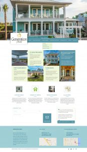 avid design group, generation homes st. augustine, website design, website designers, website design st. augustine, affordable website design, corporate website design