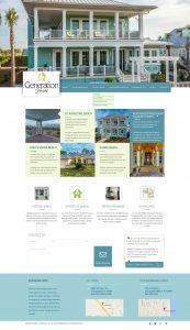 avid design group, generation homes st. augustine, website design, website designers, website design st. augustine, affordable website design, corporate website design