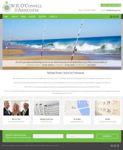 avid design group, w. h. o'connell & associates, affordable website design, graphic design st. augustine, webiste design st. augustine, st. augustine website design, web designers, responsive design