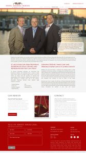 Mowrey, Shoemaker, Beardsley Attorneys at Law, Ancient City Law, Avid Design Group, st. augustine website design, website design st. augustine, affordable website design, graphic design, website design