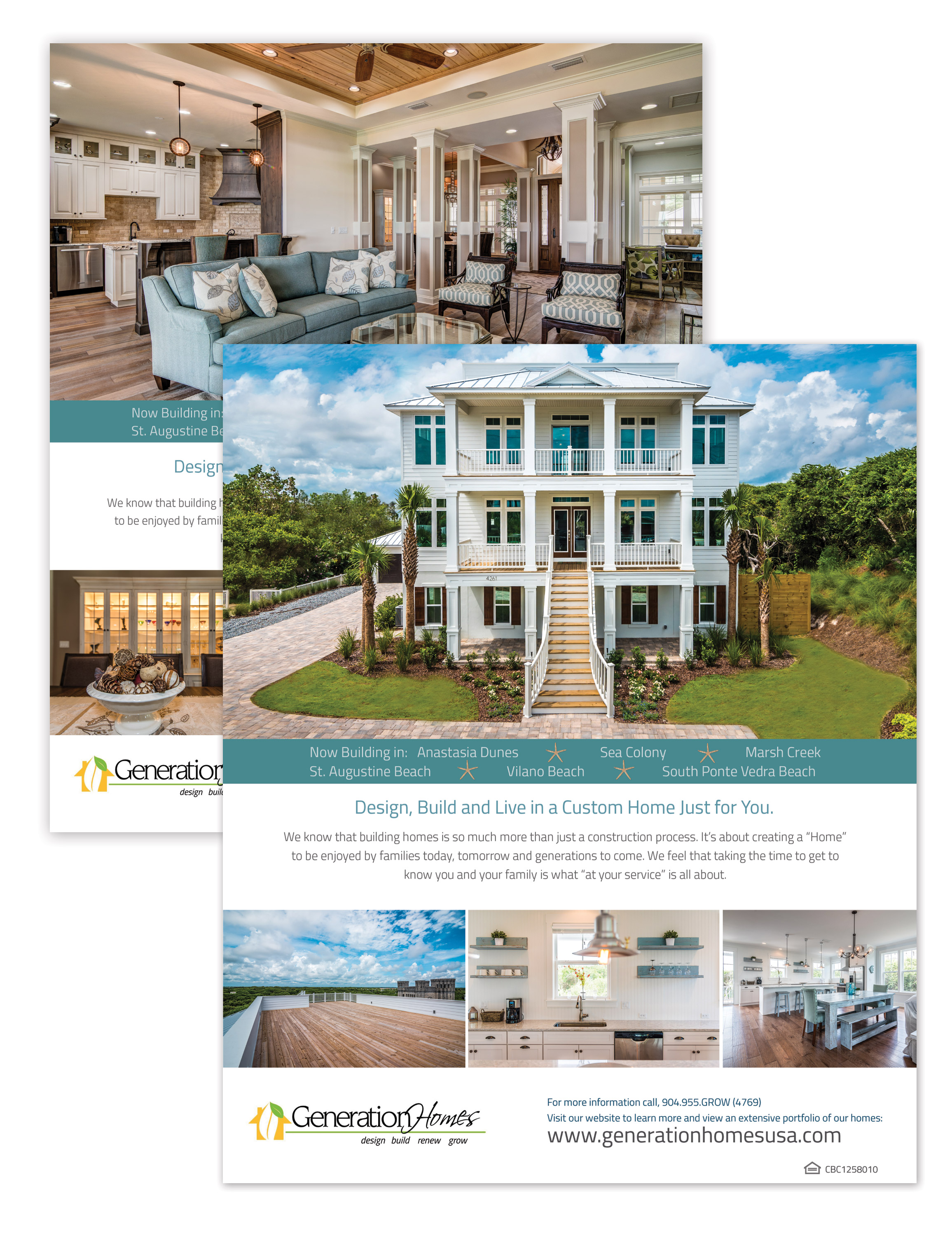 Do you need a professionally designed magazine for Design homes llc