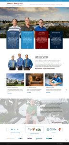 St. Augustine Website design, website designers st. augustine, Avid Design Group, Dr. James Grimes, James Grimes MD, affordable website design, Orthopaedic Associates of St. Augustine