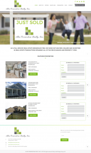 Avid Design Group, St. Augustine website design, website design st. augustine, affordable website designers, Allen Cornerstone Realty, website designers st. augustine