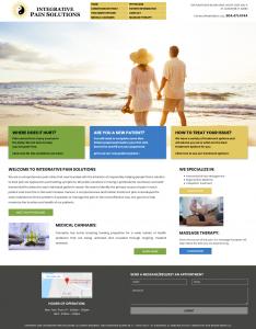 Integrative Pain Solutions, Avid Design Group, affordable website design, website design st. augustine, st. augustine website designers, web design, responsive design, SEO Services, web hosting