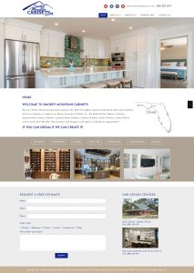 Smokey Mountain Cabinets, Avid Design Group, affordable website design, website design st. augustine, st. augustine website designers, web design, responsive design, SEO Services