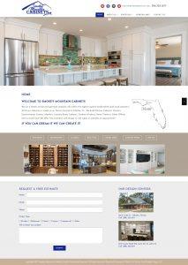 Smokey Mountain Cabinets, Avid Design Group, affordable website design, website design st. augustine, st. augustine website designers, web design, responsive design, SEO Services